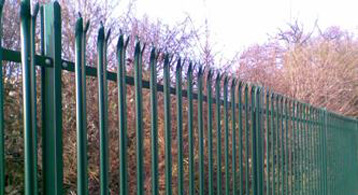 Steel Fencing UK Ltd: Palisade Fencing